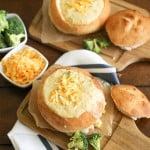 Cheddar Broccoli Soup // The Little Epicurean