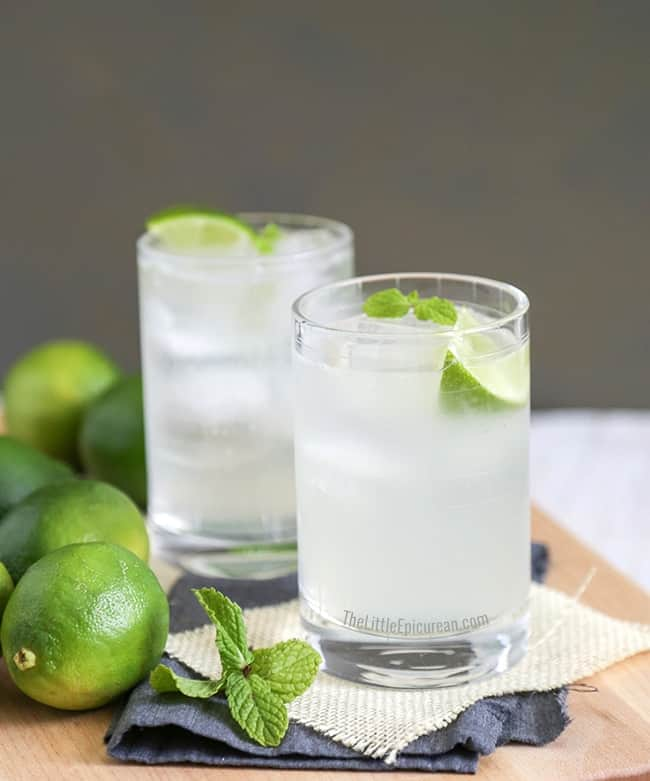 Gin and Tonic // The Little Epicurean