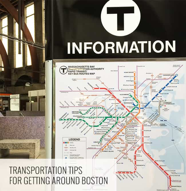 Boston Transportation Tips- The Little Epicurean