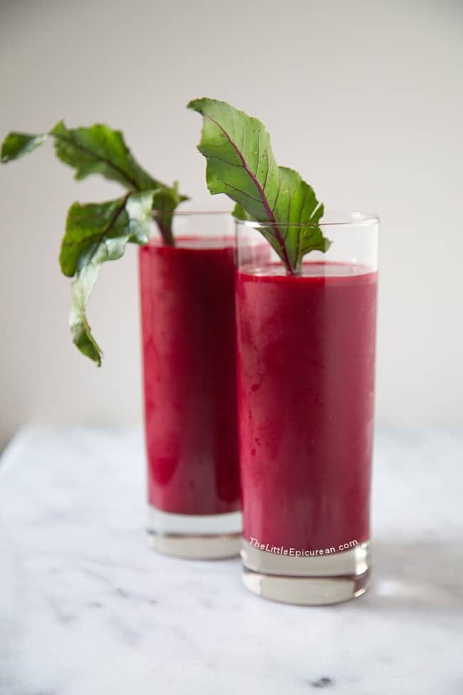 Beet Smoothie | The Little Epicurean