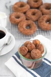 Cinnamon Sugar Buttermilk Donuts   The Little Epicurean