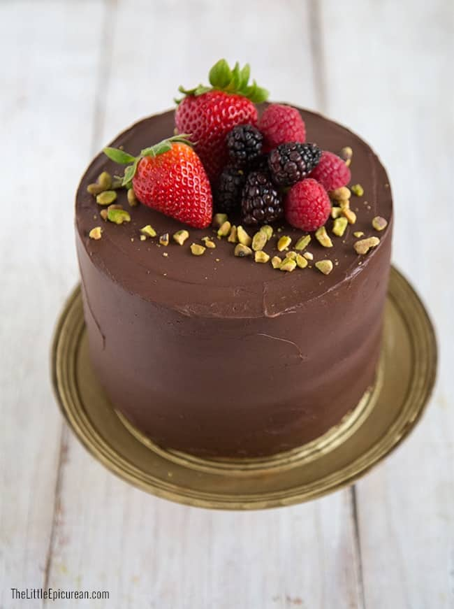 Blogoversary Chocolate Cake The Little Epicurean