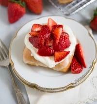 Strawberry Shortcake Donuts   The Little Epicurean