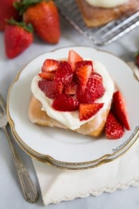 Strawberry Shortcake Donuts | The Little Epicurean