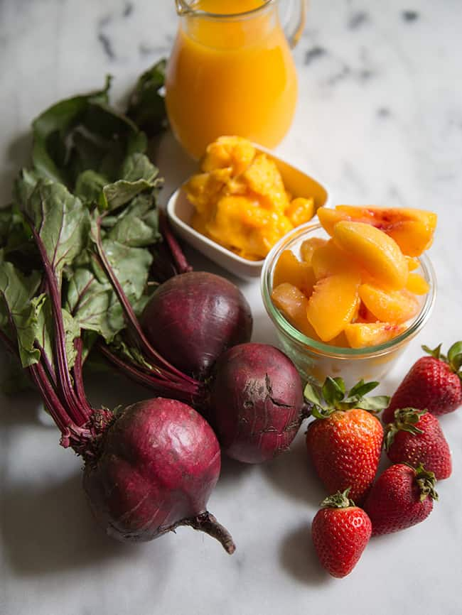 Beet Smoothie Ingredients | The Little Epicurean