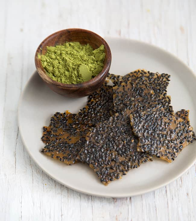 Black Sesame Brittle | The Little Epicurean