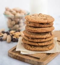 Peanut Chocolate Chip Cookies | The Little Epicurean