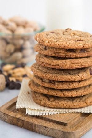 Peanut Chocolate Chip Cookies | The Little Epicurean