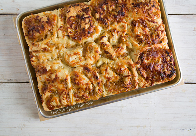 Caramelized Onion and Gruyere Rolls | The Little Epicurean