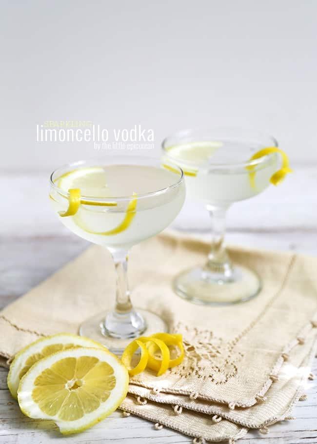 Sparkling Limoncello-Raspberry Cocktail Recipes — Dishmaps