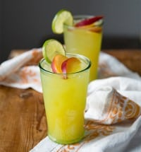 Ginger Peach Cooler | The Little Epicurean