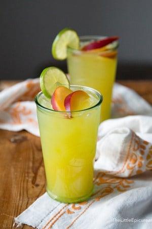 Ginger Peach Cooler | The Little Epicurean