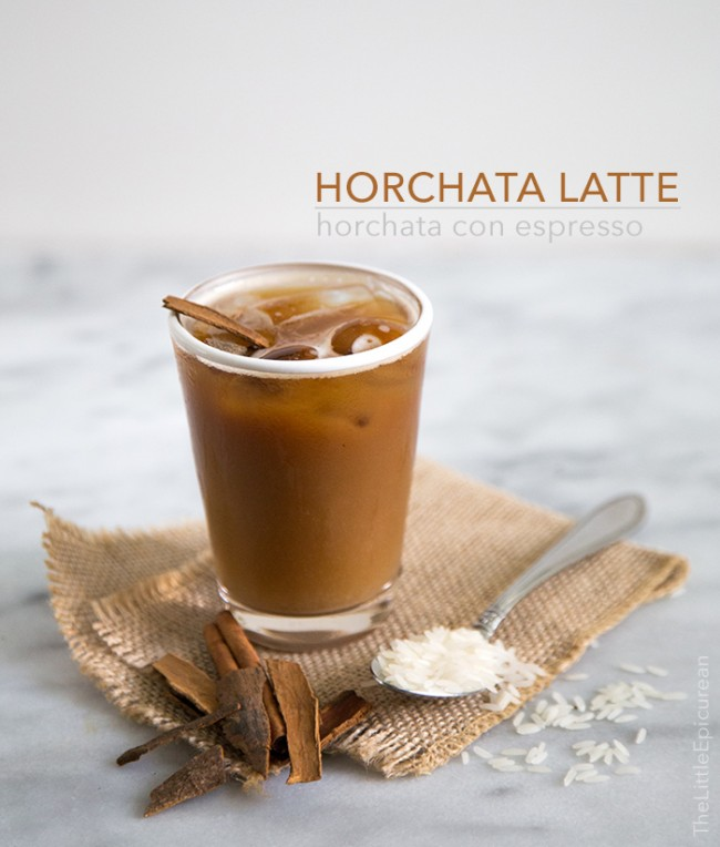 Horchata Latte (dairy free, soy free)