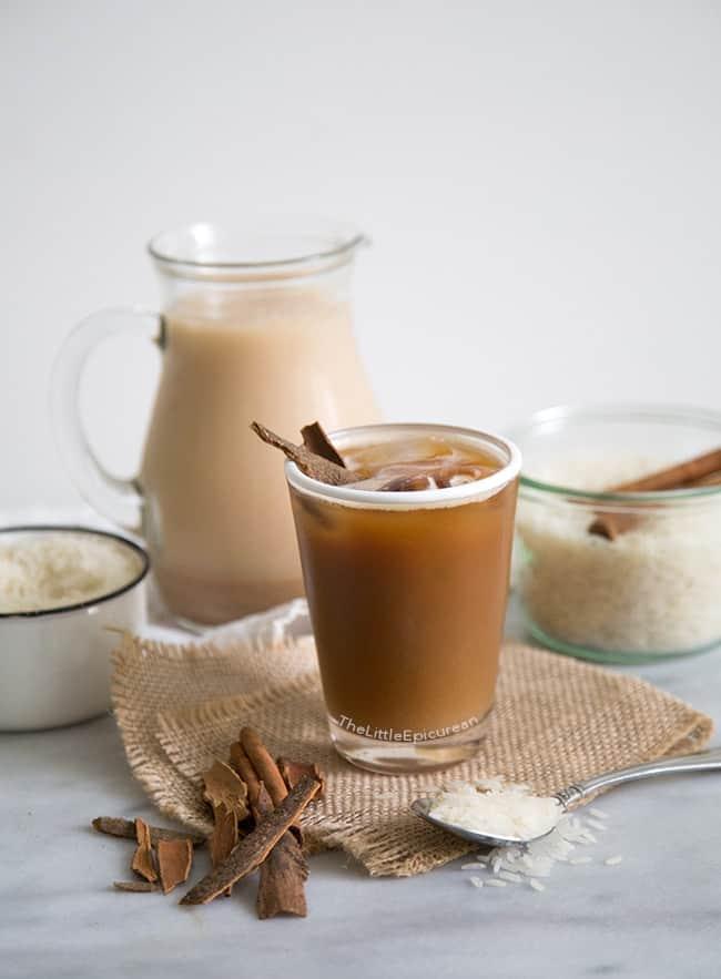 Horchata Latte - The Little Epicurean