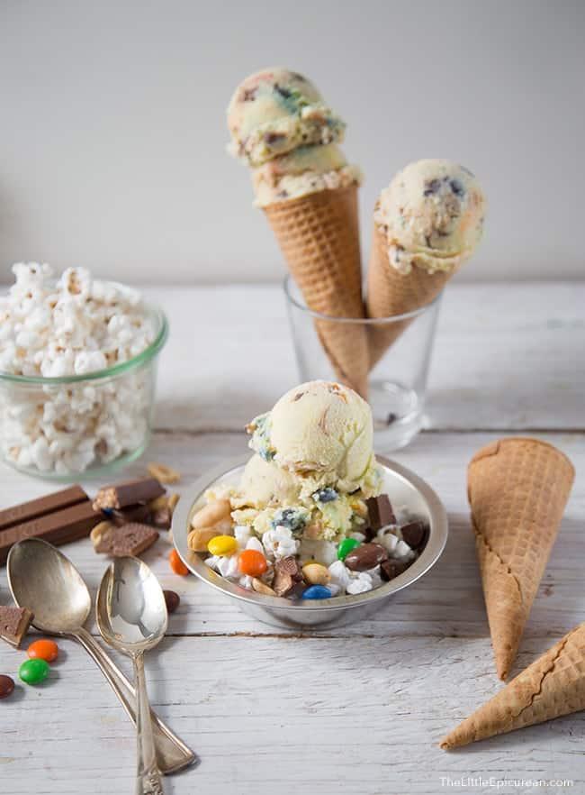 Movie Night Ice Cream   The Little Epicurean