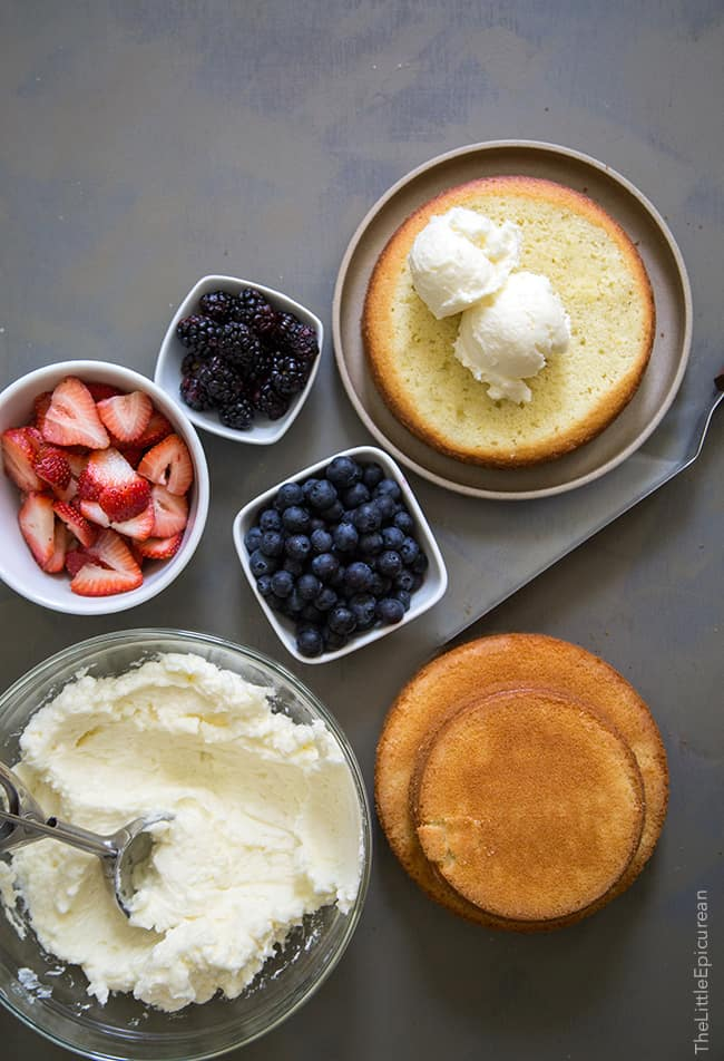 Olive Oil Cake ingredients | The Little Epicurean