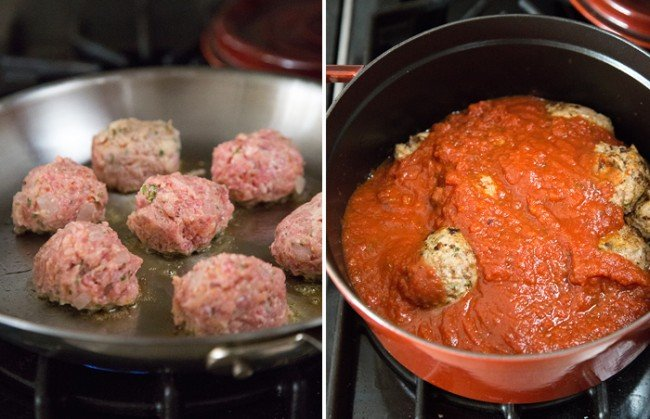 Ricotta Meatball Sandwich | The Little Epicurean