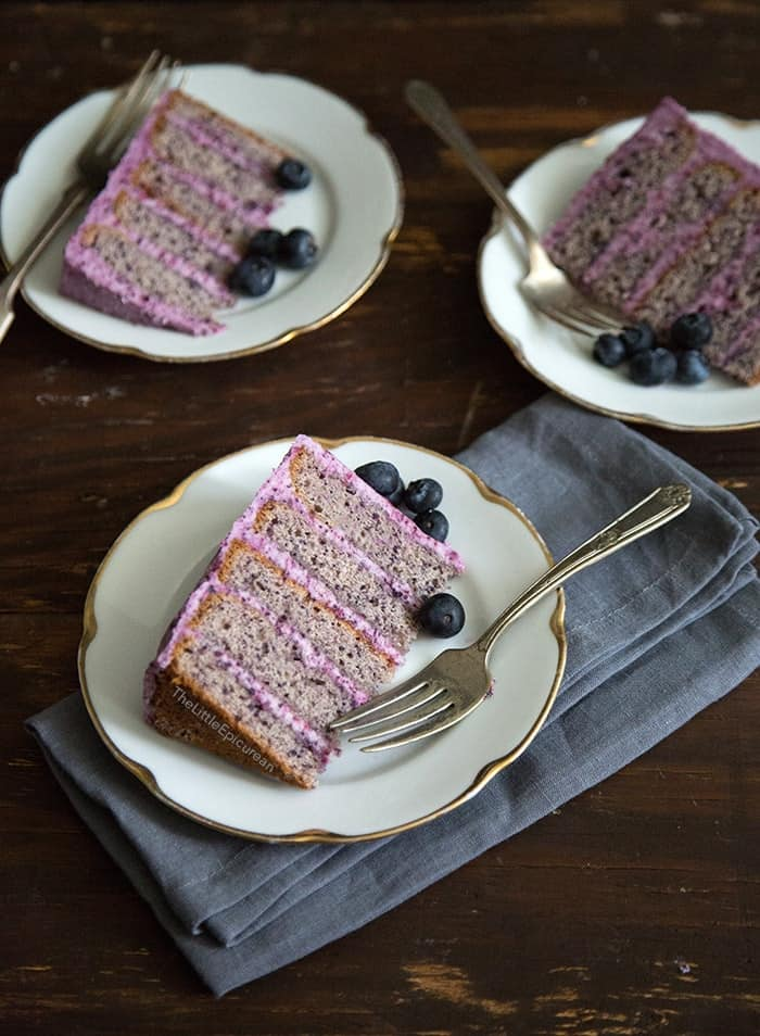 Blueberry Cake | The Little Epicurean