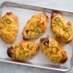 Jalapeno Cheddar Hot Dog Buns