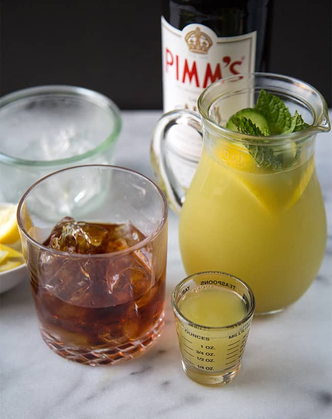 Summer pimm 39 s cup the little epicurean for What to mix with pimms