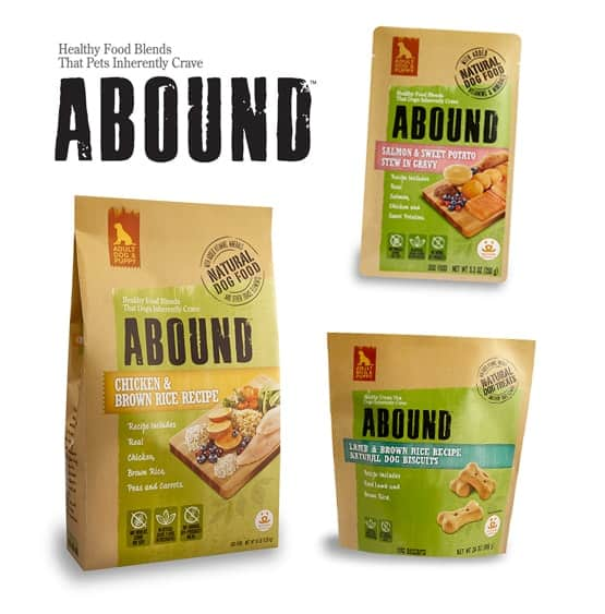 Abound Pet Food Giveaway!
