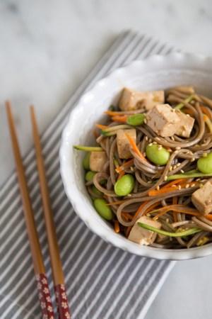 Balsamic Ginger Soba Noodles