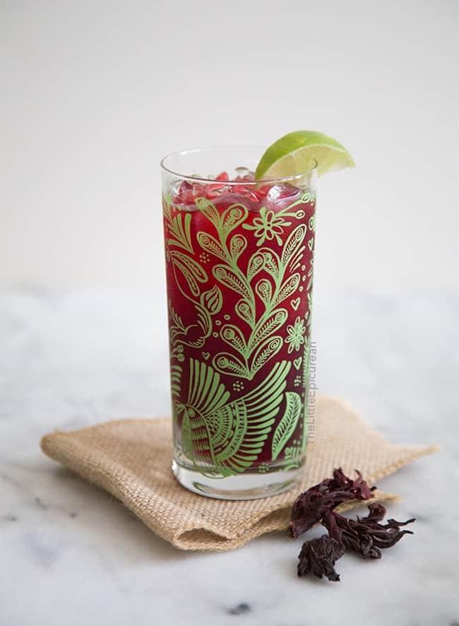 Cold Brew Hibiscus Tea