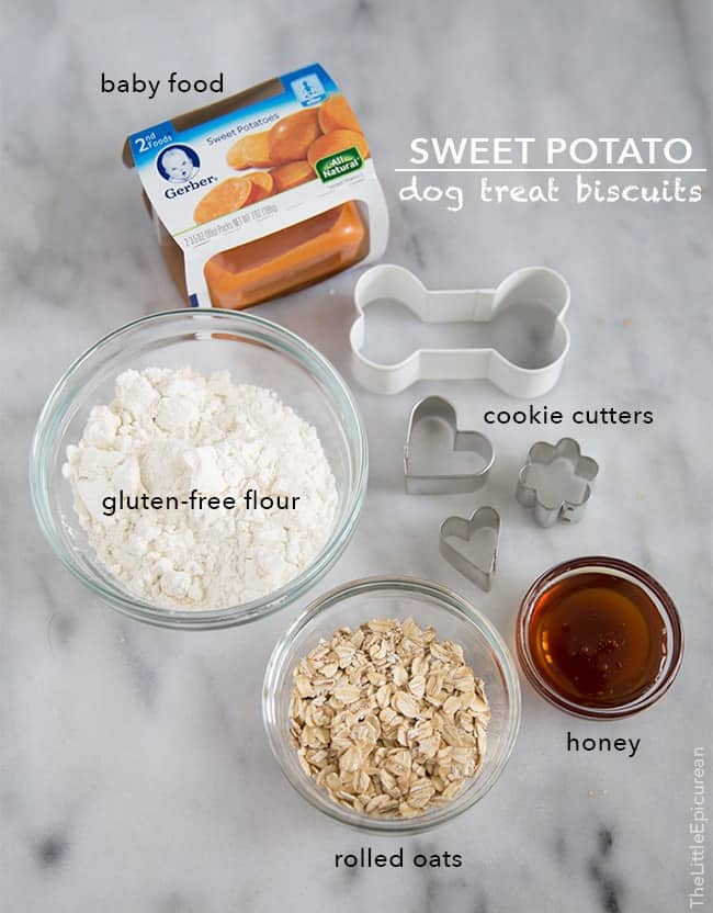 Sweet Potato Dog Treat Biscuits