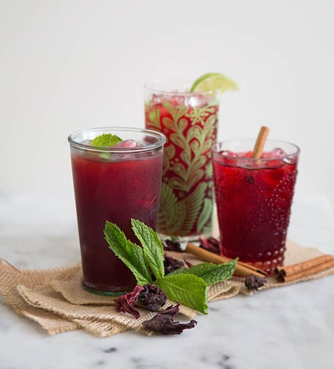 Hibiscus Tea (Agua de Jamaica)- The Little Epicurean