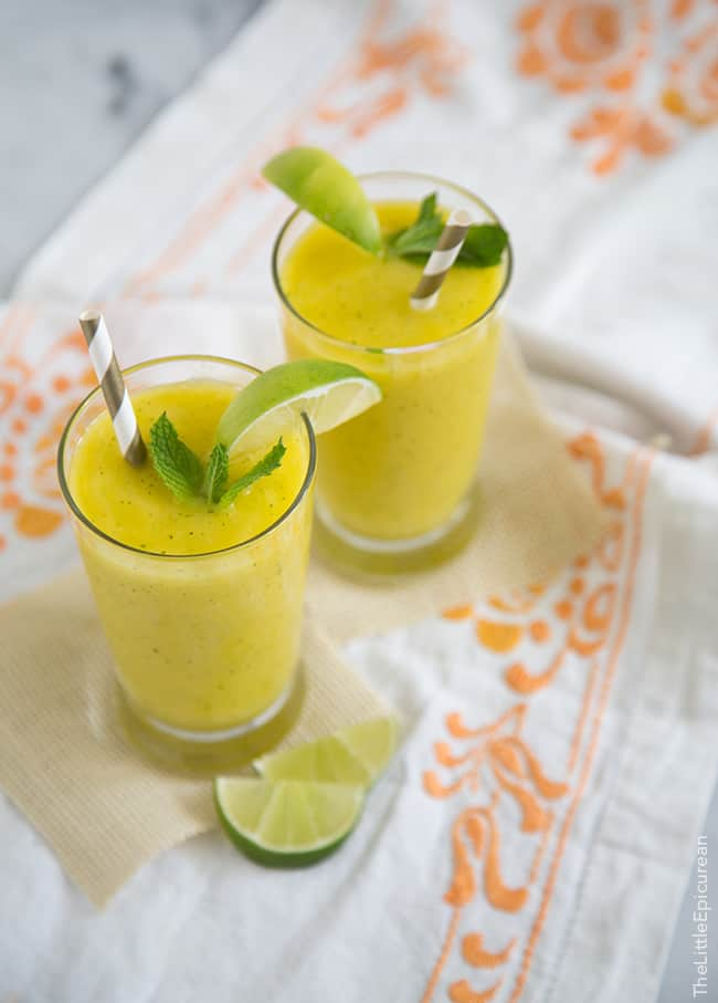 Mango-Mint Limeade Recipes — Dishmaps