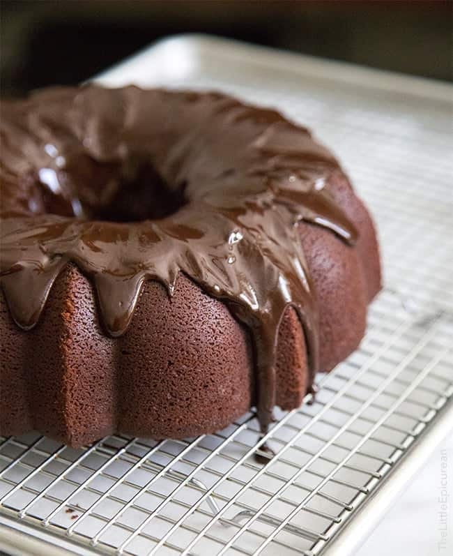 back to this birthday cake… this peanut butter chocolate bundt cake ...