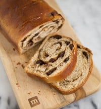 Rum Raisin Cinnamon Bread