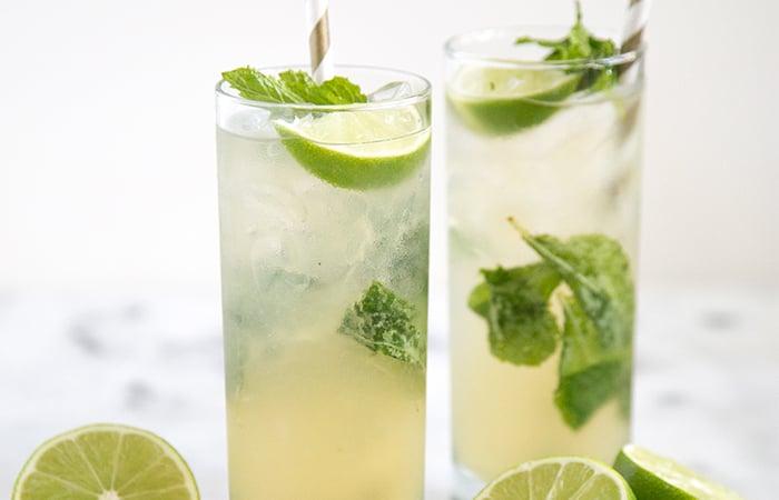 Ginger Lime Cocktail