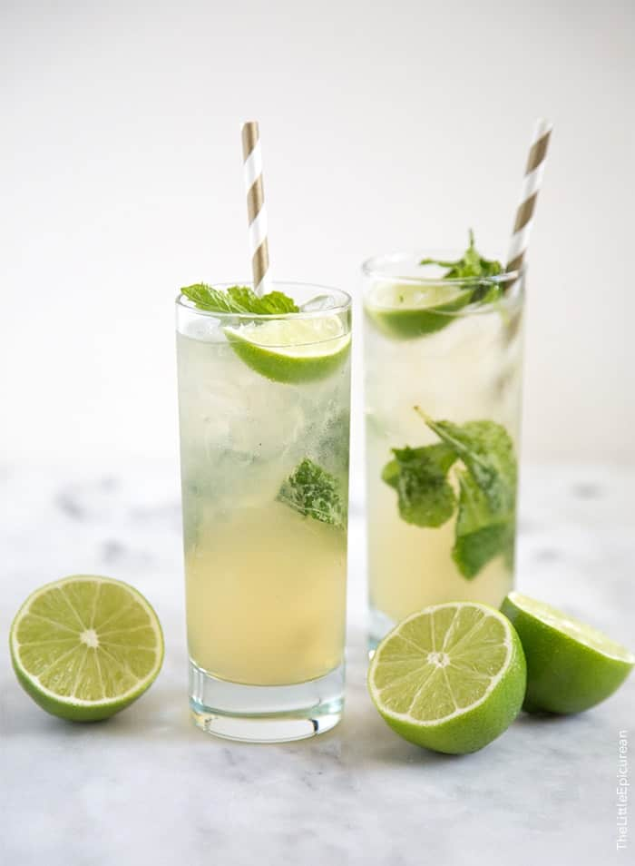 Dark Rum Drinks With Lime