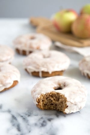 Brown Butter Apple Cider Donuts