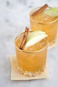 Apple Pie Moonshine Cocktail | the little epicurean