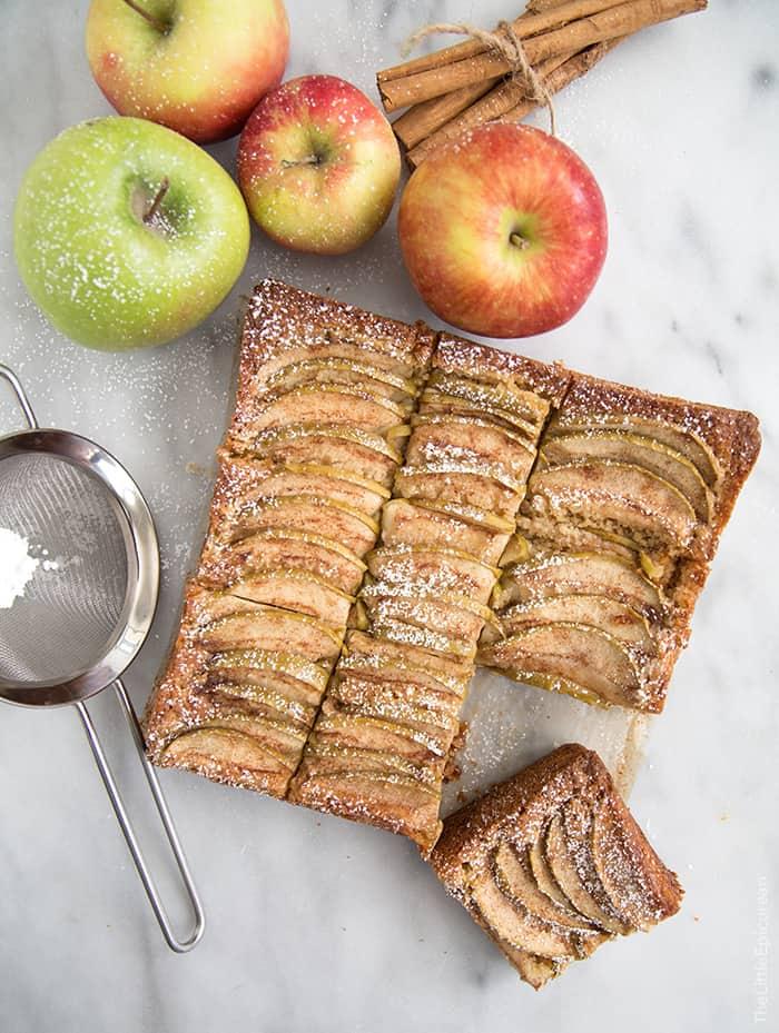 German Apple Cake- The Little Epicurean