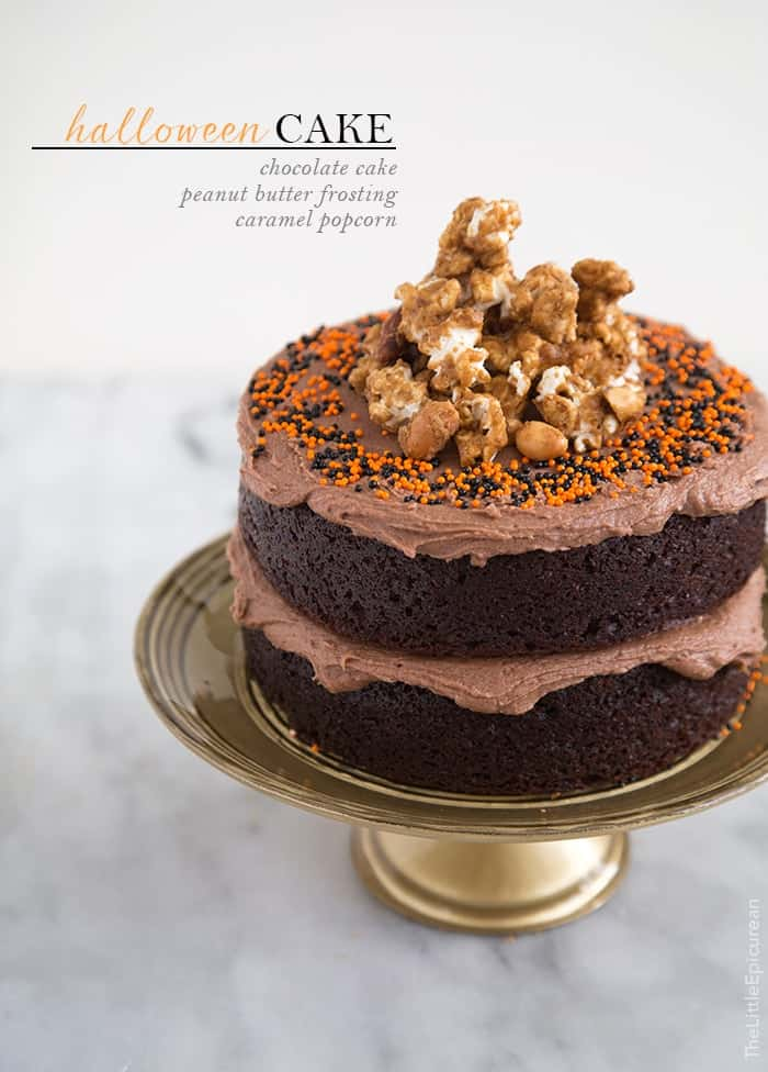 Peanut Butter Chocolate Cake The Little Epicurean
