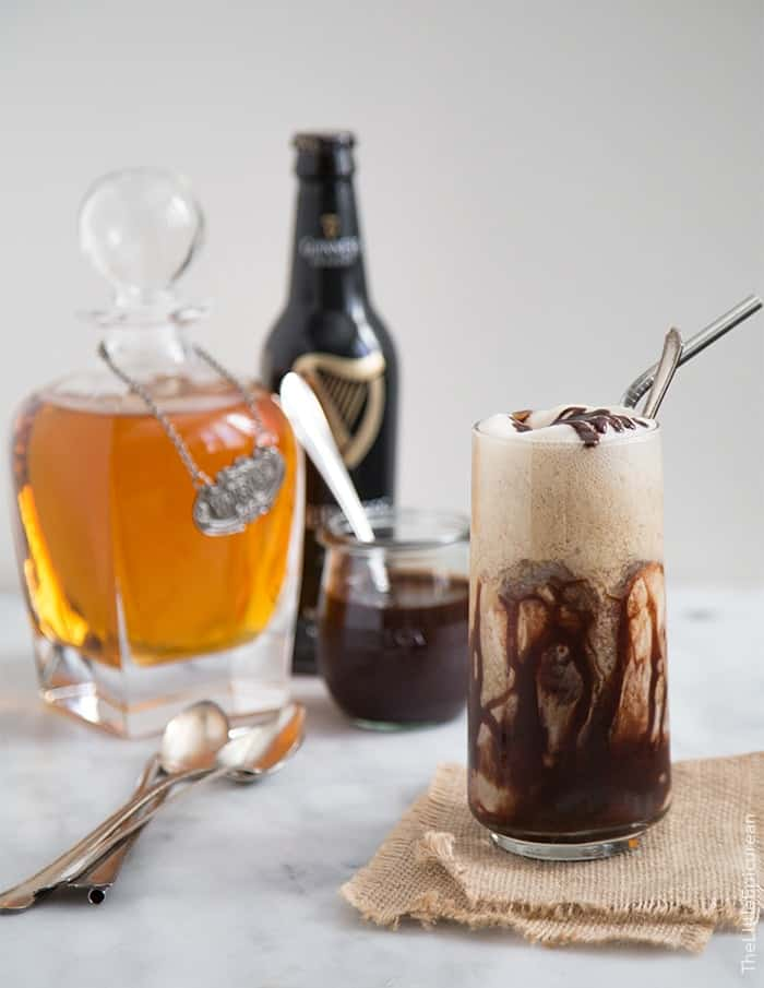 Boozy Whiskey Ice Cream Float | the little epicurean