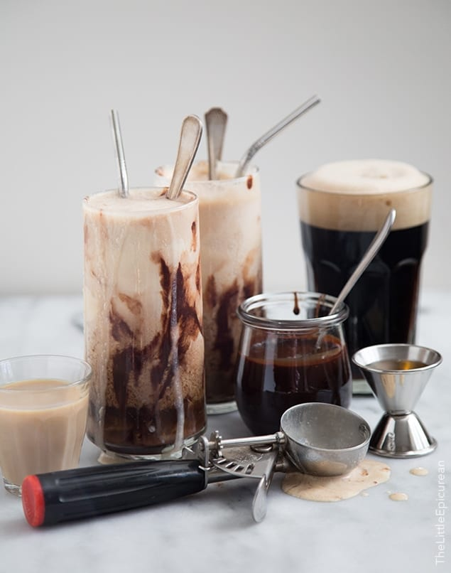 Whiskey Ice Cream Float | the little epicurean