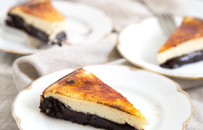 Brulee Cheesecake Brownies (gluten-free)