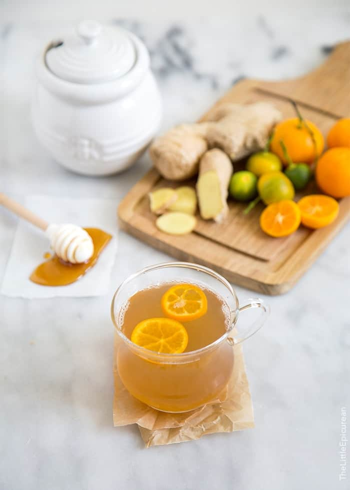 Calamansi Honey Ginger Tea