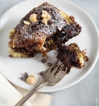 Chocolate Swirl Bread Pudding
