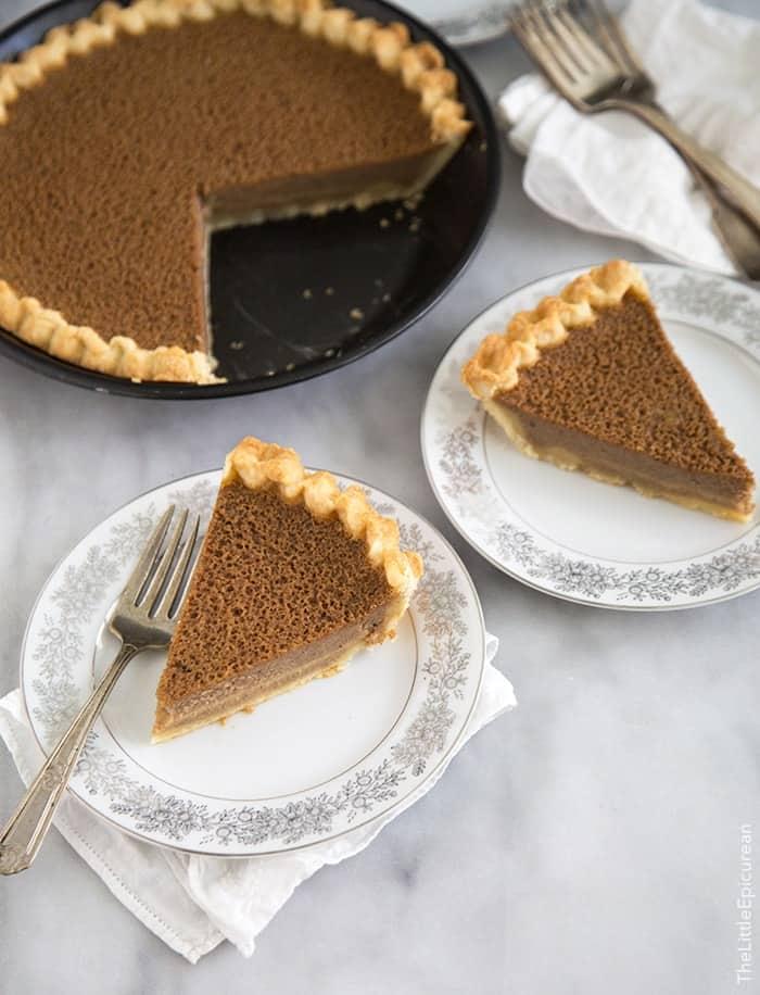 Cinnamon Buttermilk Pie