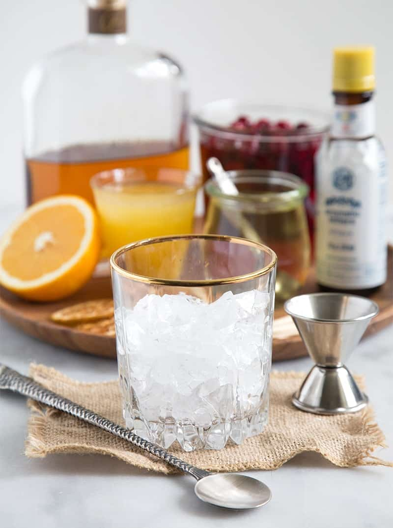 Cranberry Orange Bourbon