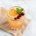 Cranberry Orange Bourbon Cocktail