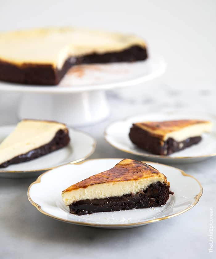 Br 251 L 233 E Cheesecake Brownies The Little Epicurean