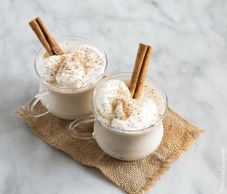 Milk Punch (Spiced Milk with Whiskey)