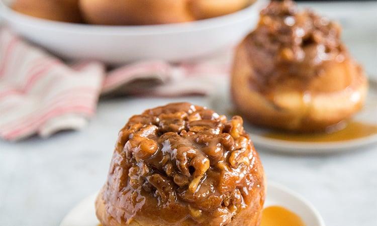 Caramel Walnut Sticky Buns