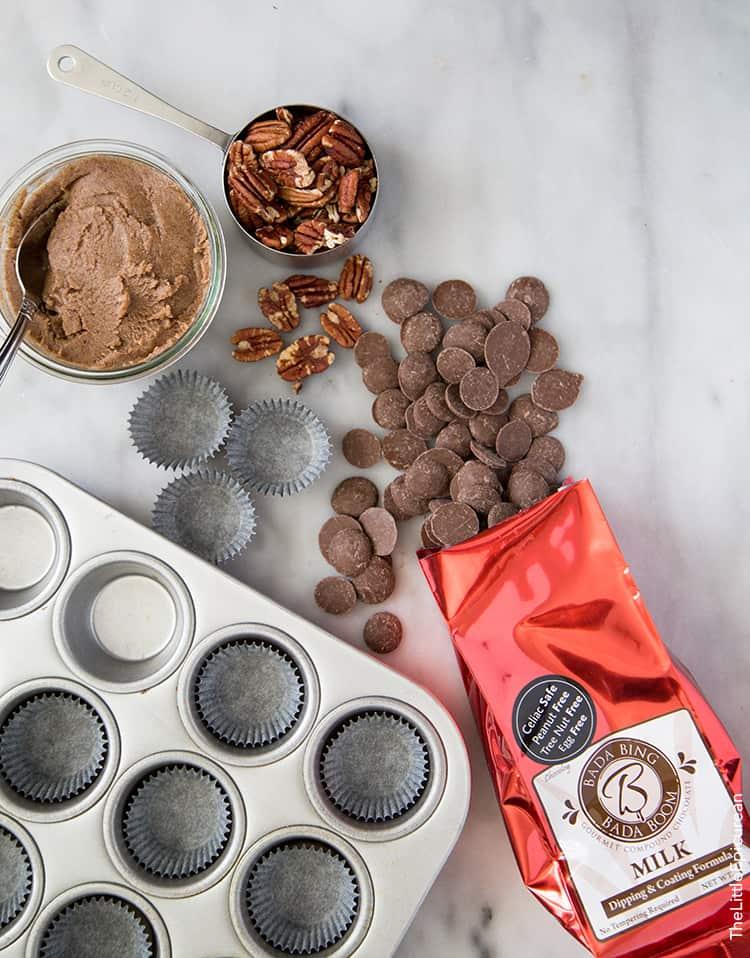 Milk Chocolate Pecan Cups
